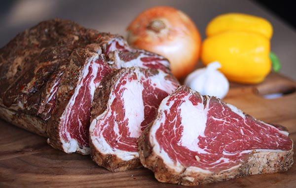 Cold Smoked Ribeye Steak