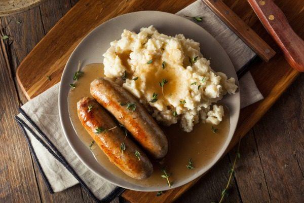 English Banger Sausage 400×600