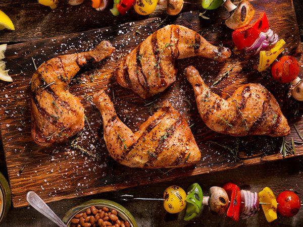 Grilled Chicken Legs 600×400